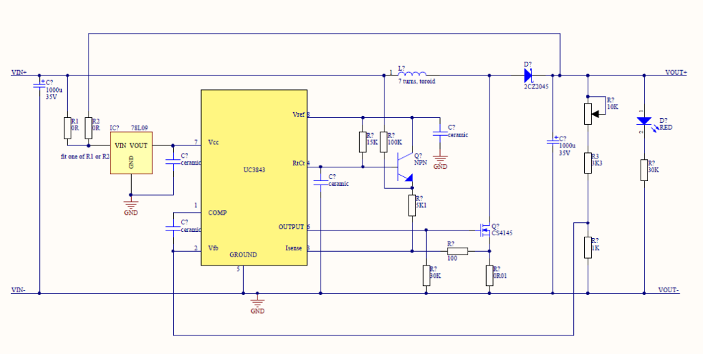 uc3843_150w_circuit